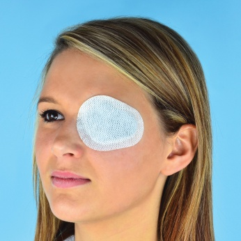 elastopor EYE non-woven eye dressing with absorbent pad, self-adhesive, sterile