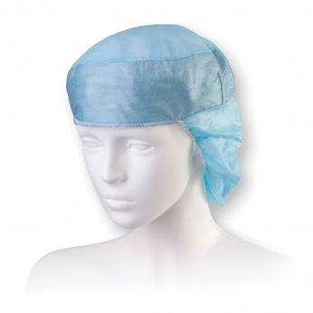 DORA long medical cap with snood