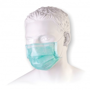 medical mask with earloops