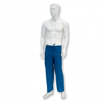 Surgical trousers with ties non-woven, non-sterile