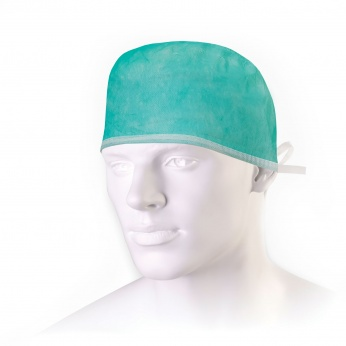 TOM medical cap with ties
