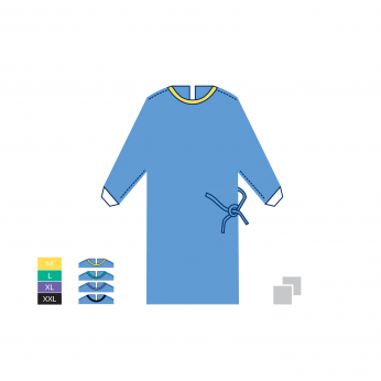 STERILE SURGICAL GOWN STANDARD - 45