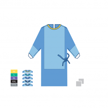 STERILE SURGICAL GOWN STANDARD PLUS - 35