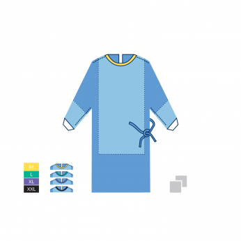 STERILE SURGICAL GOWN STANDARD PLUS - 45